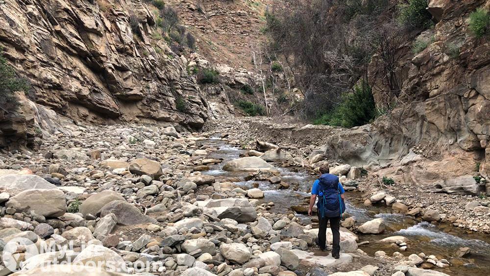 Matilija Canyon Narrows