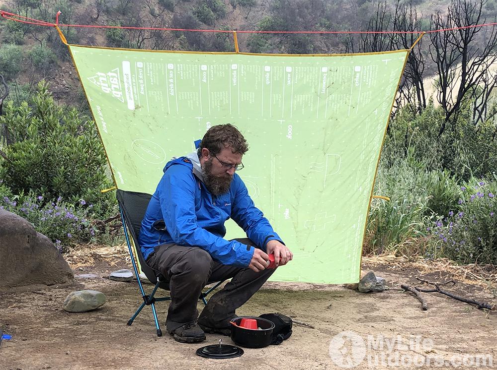 TripTarp Rain Shelter