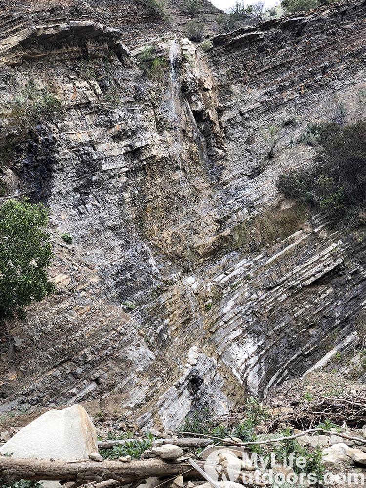 Middle Matilija Falls - Matilija Wilderness