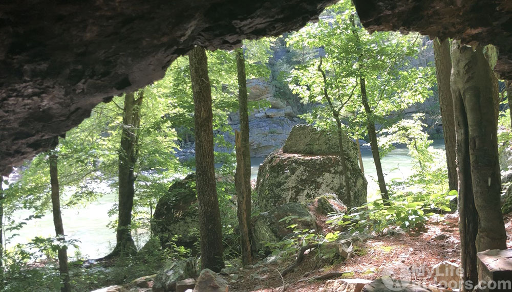 Cave in the Winding Stair Area of Eagle Rock Loop