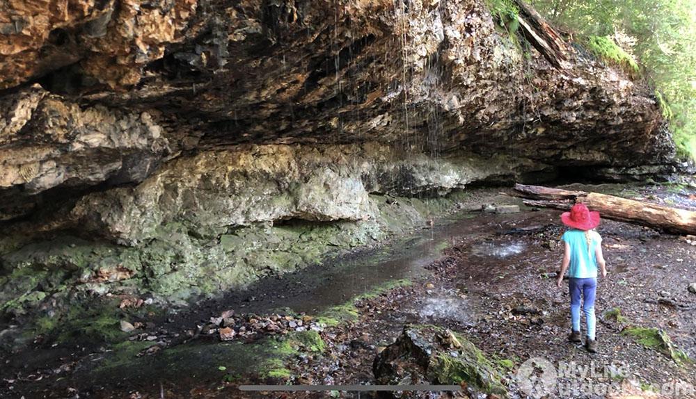 Cave Winding Stair Area Eagle Rock Loop