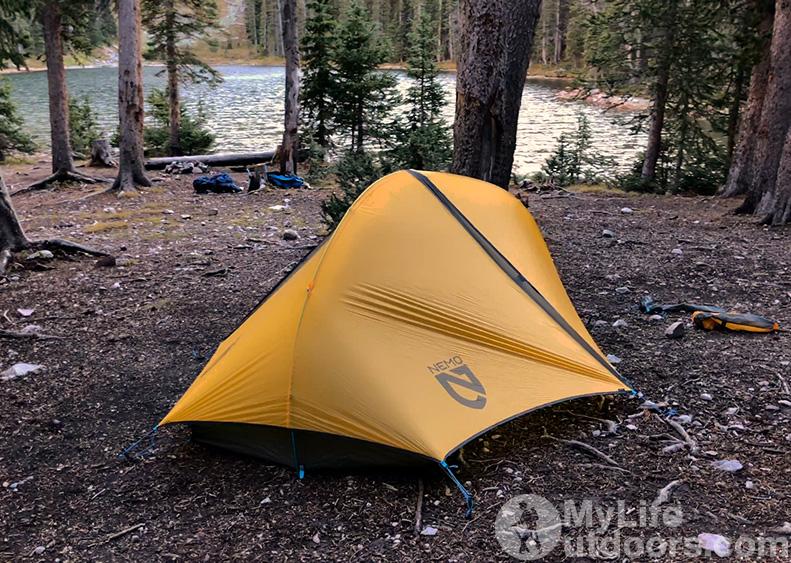 Camping Upper Trampas Lake